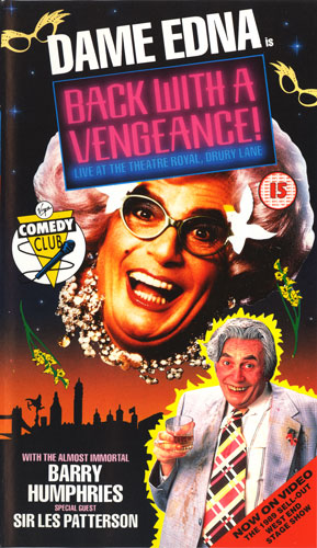 Dame Edna is Back With A Vengeance!